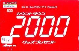 Télécarte Japon * COCA COLA * (1994) JAPAN PHONECARD * TELEFONKARTE - Advertising