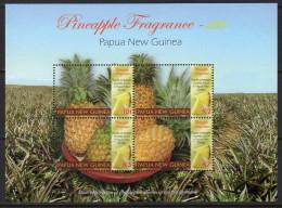 Papua New Guinea 2011 Pineapple Fragrance Sheetlet Of 4, MNH (C) - Papua New Guinea