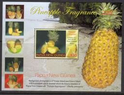 Papua New Guinea 2011 Pineapple Fragrance MS, MNH (C) - Papua New Guinea