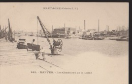 CPA:Nantes:Les Chantiers De La Loire:Bretagne:Coll E.H. - Nantes