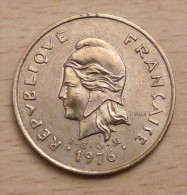 Nouvelle Calédonie 100 Francs 1976 - Nuova Caledonia