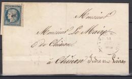 LSC Affranchissement N4 Bord De Feuille + 1 Voisin Août 1852 - 1849-1850 Ceres