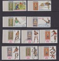 Republique De Guinee 1968 Olympic Games Mexico 10v Used (SB106C) - Zomer 1968: Mexico-City