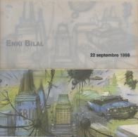 B.D. Illustrateur. Enki Bilal & Humanoïdes Associés. Carte Numérotée. 22 Septembre 1998. Sommeil Du Montre - Cartes Postales