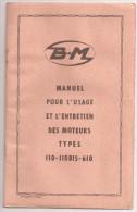 Doc Antiguo, Manuel Usage Motors - Documentos Antiguos