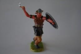 Elastolin, Lineol Hauser, H=70mm, Viking, Plastic - Vintage Toy Soldier - Figurines