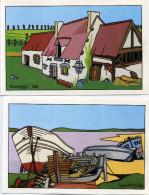 Bretagne - Geevers - Lot De 6 Cartes. - Illustratori & Fotografie