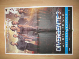 "1 Affiche Film ""Divergente 3"" (FR) - Posters"