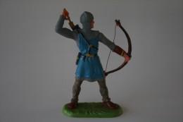 Elastolin, Lineol Hauser, H=70mm, Knight,  Plastic - Vintage Toy Soldier - Figurines