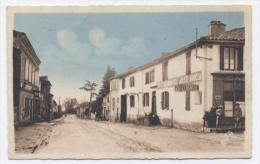 VILLEFRANCHE D'ALBI  - ROUTE NATIONALE  -RECTO/VERSO -C36 - Villefranche D'Albigeois