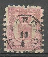 FINLAND FINNLAND 1866 Michel 9 C X O Borga - 1856-1917 Russische Verwaltung
