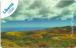 New Caledonia - Liberte - Popo, Upview Landscape - 1000CFP Remote, Exp.31.12.2017, Used - Neukaledonien