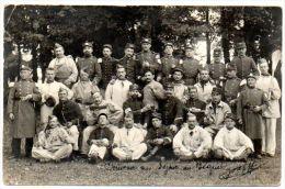 33 - Gironde / VILLENAVE D'ORNON : Carte-photo à L'Hôpital Militaire Du Béquet (Service De Santé Du 18ème Corps D'Armée) - France