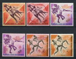Rép. De Guinée 1963. Yvert 171-76 ** MNH. - República De Guinea (1958-...)