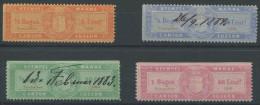 1131 - LUZERN Fiskalmarken - Steuermarken