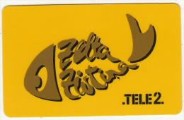LATVIA - Tele2 Recharge Card, Used - Latvia