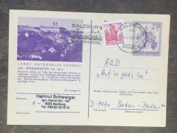 E23 Österreich Austria Autriche Ganzsache Stationary Entier Postal Mi. P 451 150/15 Kremsmünster - Ganzsachen