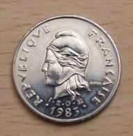 Polynésie Française 10 Francs 1983 - Polynésie Française