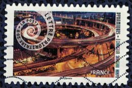 France 2014 Oblitéré Used Dynamiques Echangeur Shanghai Nanpu Y&T 932 - France