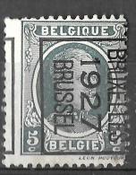 _6Wz-814: N° 158  B : BRUXELLES 1927 BRUSSEL Verschoven Druk.. - Préoblitérés