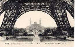 75 - PARIS - Le Trocadéro Vu Sous La Tour Eiffel - The Trocadero From Eiffel Tower - Neuve - Eiffelturm