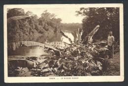 CPA Afrique - Gabon - La Rivière Abanga  // - Gabon
