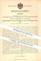 Original Patent - J. Landscheid , Sterkrade , 1895 , Steigbügel , Bügel , Sattel , Reiten , Reitsport , Pferd , Pferde ! - Historische Dokumente