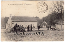 37 - CONTINVOIR - #1 - Le Petit Bonheur +++ Oblit.: 70 Régiment D'Infanterie / Service Du Tir / CAMP De BENAIS ++++ RARE - Frankreich
