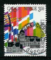 Norway Norge 1993 Olympic Winter Games Lillehammer 1994, Torch Relay Mi 1140  Cancelled(o) - Hiver 1994: Lillehammer