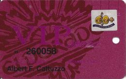 Eldorado Casino Reno NV 14th Issue 60+ Sr Slot Card - Smaller Authorized Signature Text - Casino Cards