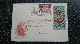 Pro Juventutebrief Nr 43 Mit Genf Vignette Selten!! - Lettres & Documents
