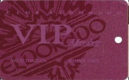 Eldorado Casino Reno NV 15th Issue BLANK Slot Card - Plain VIP Member (Not Foil) - Casino Cards