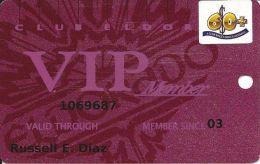 Eldorado Casino Reno NV 15th Issue 60+ Sr Slot Card - Plain VIP Member (Not Foil) - Casino Cards