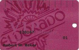 Eldorado Casino Reno NV 16th Issue Slot Card - (I) Over Mag Stripe - Casino Cards
