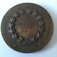 MÉDAL : EXPOSITION UNIVERSELLE DE BARCELONE 1888 - Jetons & Médailles