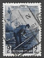 1946 9fr Railway, Used - 1942-1951