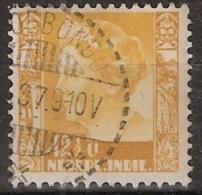 Ned Indie 1934 Wilhelmina Zonder Watermerk (no Watermark) NVPH 204 Gestempeld/ Cancelled - Indes Néerlandaises