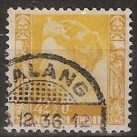 Ned Indie 1934 Wilhelmina Zonder Watermerk (no Watermark) NVPH 204 Gestempeld/ Cancelled - Nederlands-Indië