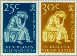 Nederlands Nieuw Guinea 1960 Vluchtelingen Jaar , Refugee Year. MNH/** Postfrisch - Nuova Guinea Olandese