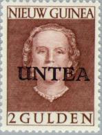 Nederlands Nieuw Guinea 1962 2 Gld UNTEA Surcharge, MNH**, Luxe Postfris - Netherlands New Guinea