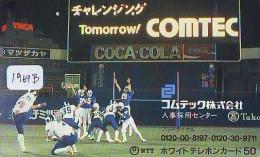 Télécarte Japon * COCA COLA * (1969b) JAPAN PHONECARD * TELEFONKARTE * - Advertising