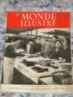 LE MONDE ILLUSTRE 25 JANVIER 1947 № 4395 28 PAGES - Books, Magazines, Comics
