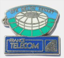 Pin´s  FRANCE TELECOM - CFR MELUN SENART - Bâtiment - Zamac -  Ballard - F145 - France Telecom