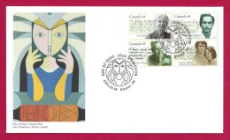 CANADA, 2003, OFDC, # 1997a, CANADIAN AUTHORS - 2001-2010