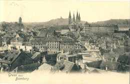 600  Gruss Aus Bamberg. Gelaufen Nach Leipzig, Stempel Bamberg 2 / 1. APR. 07 - Bamberg
