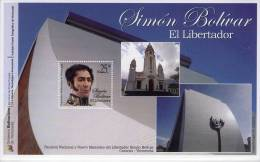 Lote V2012-1, Venezuela, 2012, HF, SS, Simon Bolivar, El Libertador, Panteon Nacional Y Mausoleo, Pantheon, Mausoleum - Venezuela