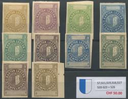 1141 - LUZERN Fiskalmarken - Steuermarken
