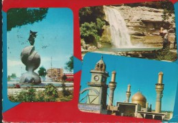 IRAQ-  MULTIVEDUTE - VIAGGIATA - - Iraq