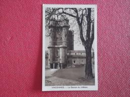 92 Frankreich France Vincennes Le Donjon Du Chateau Publicitaire Margarine AXA - Francia