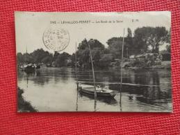 92 Frankreich France Levallois Perret Les Bords De La Seine 1924 - Francia